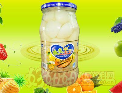 水果王子1000g冰糖梨球罐头