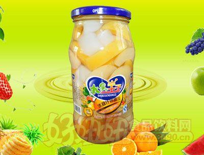 水果王子1000g冰糖什锦罐头