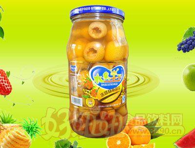 水果王子1000g冰糖杨梅罐头