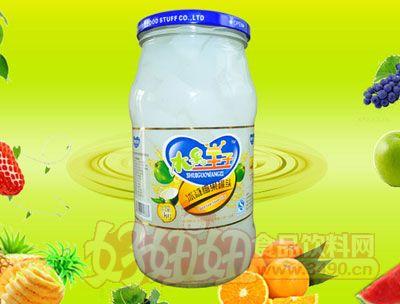 水果王子1000g冰糖椰果罐头