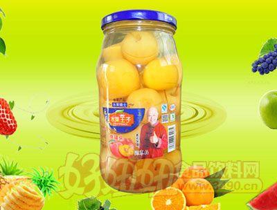 水果王子1000g冰糖海棠罐头