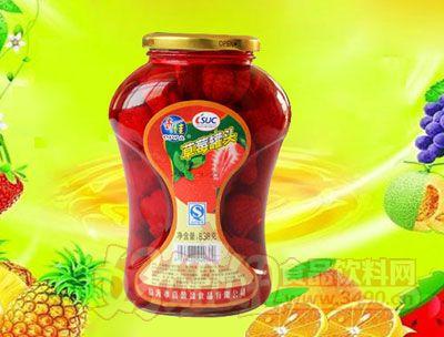 水果王子838g草莓罐头