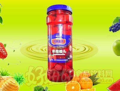 水果王子880g草莓罐头