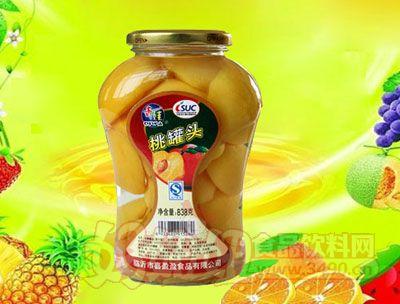 水果王子838g桃罐头