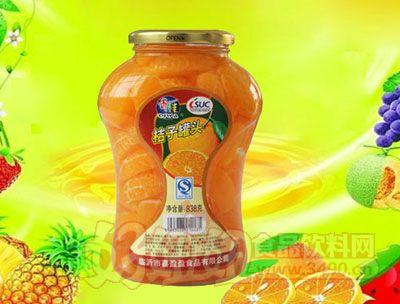 水果王子838g桔子罐头