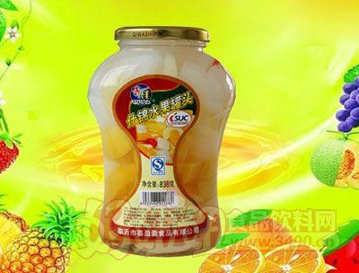 水果王子838g什锦水果罐头