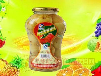 水果王子838g糖水海棠罐头