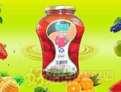水果王子838g杨梅罐头