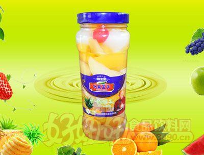 水果王子700g什锦水果罐头