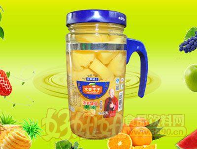 水果王子638g菠萝罐头