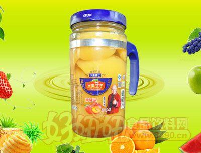 水果王子638g桃罐头