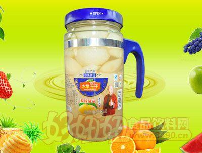 水果王子638g梨球罐头