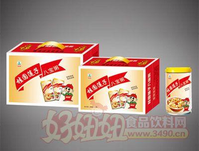 绿知园桂圆莲子八宝粥箱装