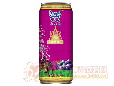 上上�瓷�榨蓝莓汁