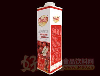 喜�肯采�榨�O果醋1L(盒�b)