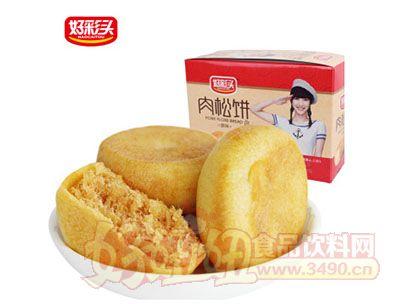 好彩�^原味金�z肉松�450g�Y盒