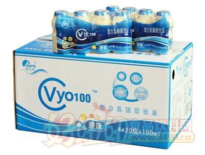爱儿乐乳酸菌饮品4×20瓶×100ml