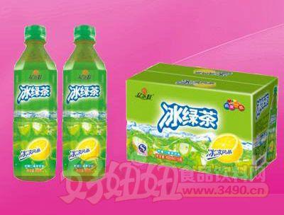 冰绿茶饮料490ml 15瓶