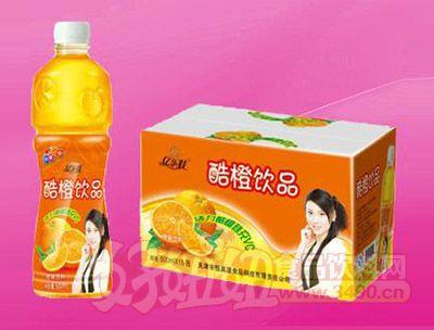 酷橙饮品500ml 15瓶
