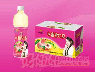 水蜜桃饮品500ml 5瓶