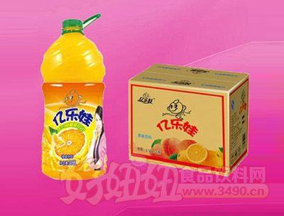 亿乐娃橙味饮料2.58L 6瓶
