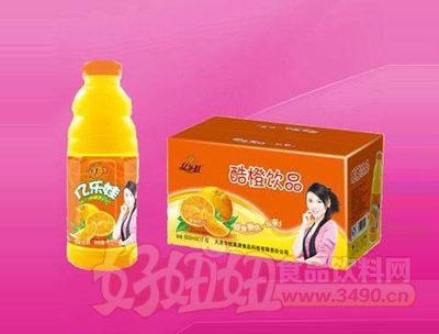 酷橙饮品600ml 15瓶