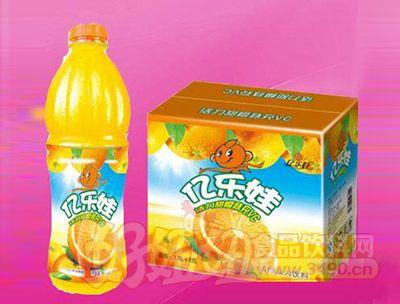 橙粒果汁饮料1.5L 6瓶