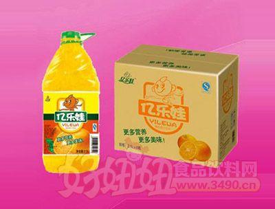 橙粒果汁饮料2.5L 6瓶