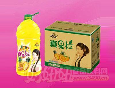 菠萝果汁饮料2.5L 6瓶