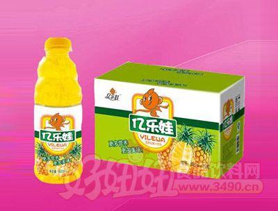橙粒果汁饮料600ml 15瓶