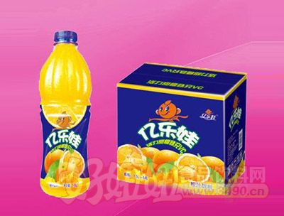亿乐娃橙汁饮料1.5L 6瓶