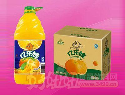 亿乐娃橙汁饮料2.5L 6瓶