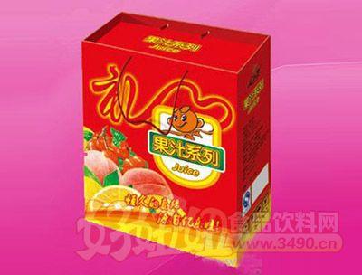 亿乐娃果汁礼盒2.5L 2瓶