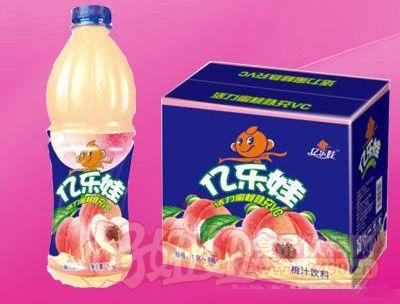 亿乐娃桃汁饮料1.5L 6瓶