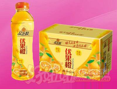 优果橙汁饮料500ml 15瓶