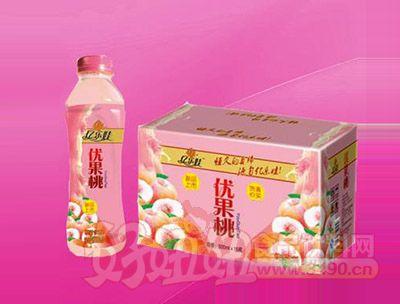 优果桃汁饮料500ml 15瓶