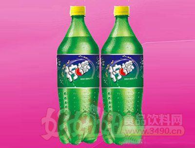 柠檬味碳酸饮料2.5L 6瓶(塑包)