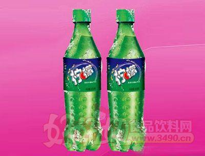 柠檬味碳酸饮料600ml 24瓶(塑包)