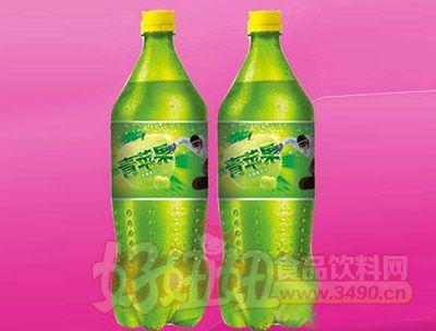 苹果味碳酸饮料2.5L 6瓶(塑包)