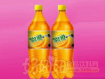 甜橙味碳酸饮料2.5L 6瓶(塑包)