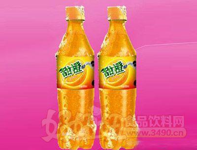甜橙味碳酸饮料600ml 24瓶(塑包)