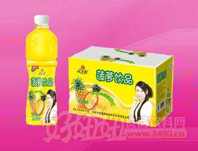 菠萝饮品500ml 15瓶