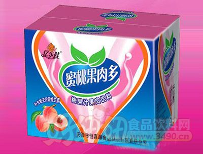 蜜桃果肉多(纸箱)500ml 15瓶