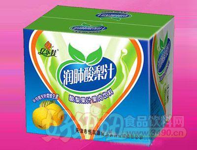 润肺酸梨汁(纸箱)500ml 15瓶