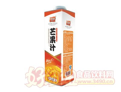 宗润芒果汁果汁饮料1L