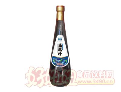 宗润蓝莓汁果汁饮料828ml