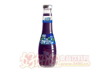 宗润蓝莓汁果汁饮料350ml
