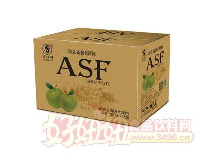 > asf苹果汁饮料275ml×15瓶