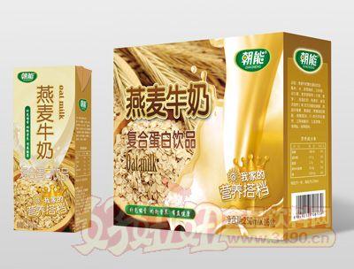 朝能燕麦牛奶250mlx16盒