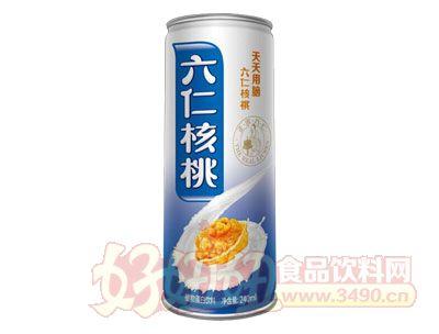 九仁六仁核桃乳240ml罐装